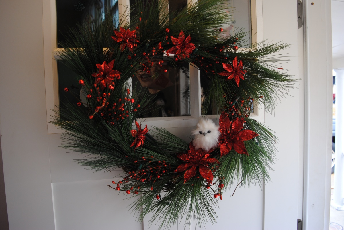 Part One How To Make Your Own Christmas Wreath Door